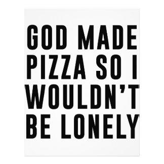 孤独なピザ レターヘッド