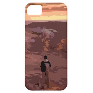 孤独な人の岩が多い景色の場合 iPhone SE/5/5s ケース