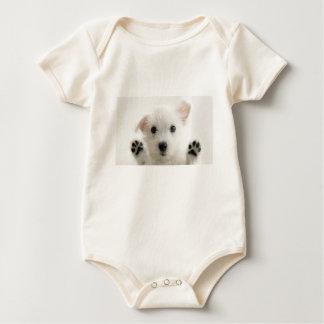 孤独な子犬 ベビーボディスーツ