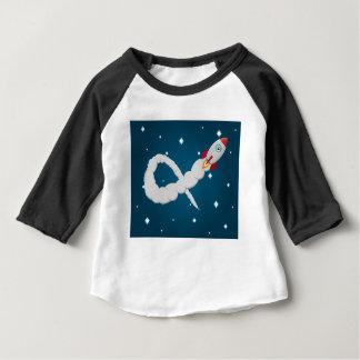 孤独な宇宙飛行士 ベビーTシャツ