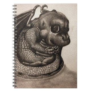 孤独な赤ん坊のドラゴン ノートブック