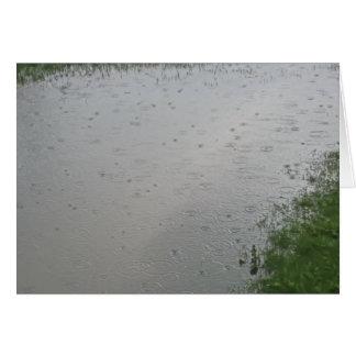 孤独な雨滴 カード