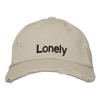 孤独(野球帽) 刺繍入りキャップ