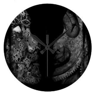 孤立した ラージ壁時計