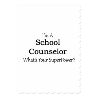 学校のカウンセラー カード