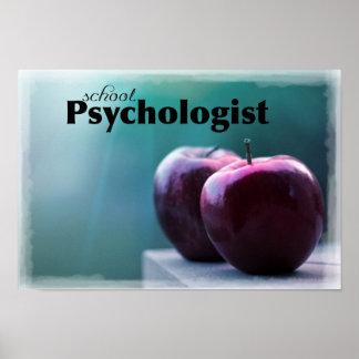 学校の心理学者のオフィスポスター ポスター