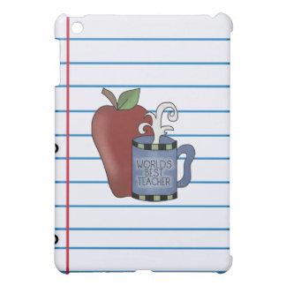 学校の最も最高のな先生の堅い貝のiPadの場合 iPad Miniケース