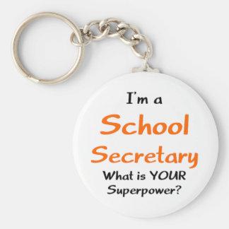 学校の秘書 キーホルダー