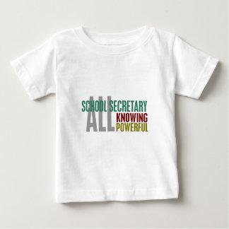 学校の秘書 ベビーTシャツ