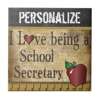 学校の秘書- DIYの名前--があることを愛して下さい タイル