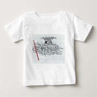 学校のBorded ベビーTシャツ