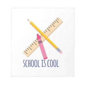 学校はクールです ノートパッド