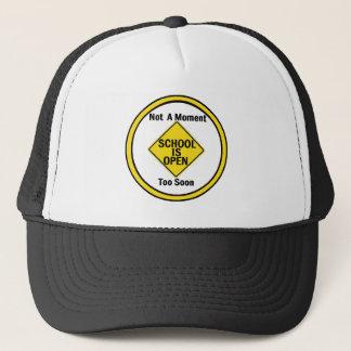 学校は開いた帽子です キャップ