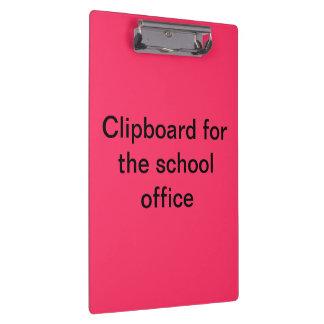 学校オフィスのためのクリップボード クリップボード