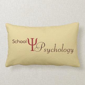 学校心理学のアクセントの枕 ランバークッション