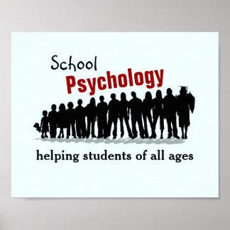 学校心理学: 救済しますすべての学生(ポスター)を ポスター