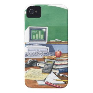 学校教師の机色の項目 Case-Mate iPhone 4 ケース
