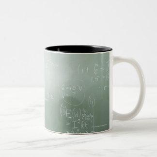 学校教師 ツートーンマグカップ