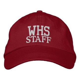 学校長-帽子 刺繍入りキャップ