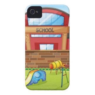 学校 Case-Mate iPhone 4 ケース