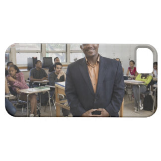 学生が付いている教室の先生 iPhone SE/5/5s ケース