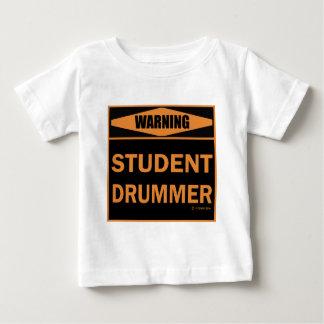 学生のドラマー ベビーTシャツ