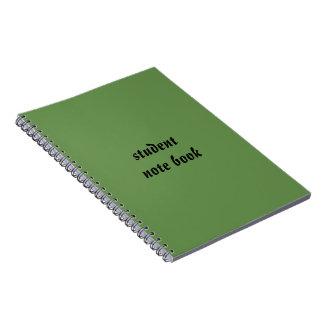 学生のノート ノートブック