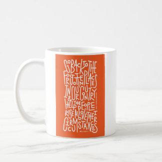 学生の声明のマグ コーヒーマグカップ
