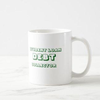 学生の貸付け金のマグ コーヒーマグカップ