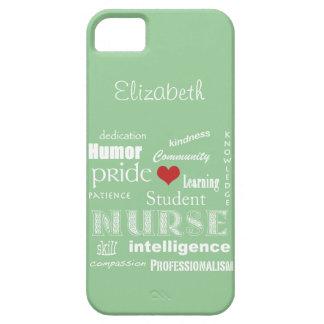 学生ナースのプライド属性の/Greenの霧 iPhone SE/5/5s ケース