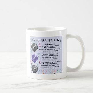 孫の詩-第18誕生日 コーヒーマグカップ
