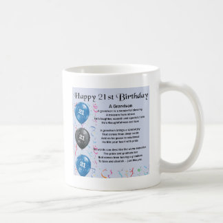 孫の詩-第21誕生日 コーヒーマグカップ