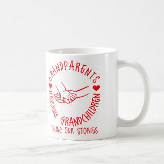 孫を育てている祖父母 コーヒーマグカップ