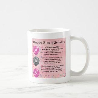 孫娘の詩-第21誕生日 コーヒーマグカップ