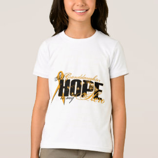 孫娘私の英雄-白血病の希望 Tシャツ