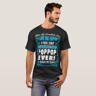 孫I愛Poppopの最も幸運なTシャツ Tシャツ