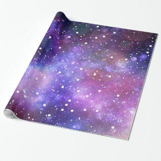 宇宙および星の包装紙 包装紙