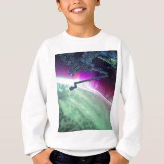 宇宙からのオーロラBorealis スウェットシャツ
