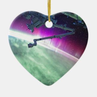 宇宙からのオーロラBorealis セラミックオーナメント