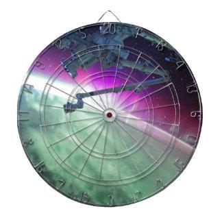 宇宙からのオーロラBorealis ダーツボード