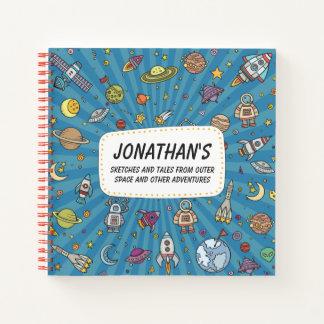 宇宙からのスケッチそして物語 ノートブック
