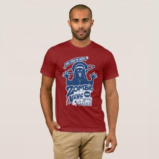 宇宙からのゾンビの尼僧 Tシャツ