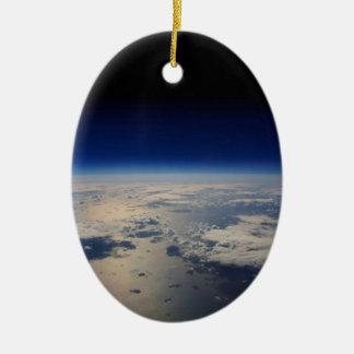 宇宙からの地球 セラミックオーナメント
