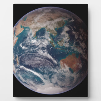 宇宙からの地球 フォトプラーク