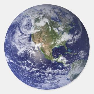 宇宙からの地球 ラウンドシール