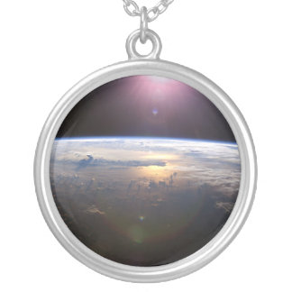 宇宙からの惑星の地球 オリジナルネックレス