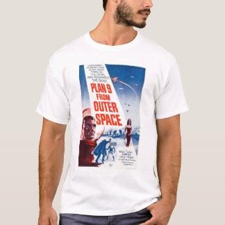 宇宙からの計画9 Tシャツ