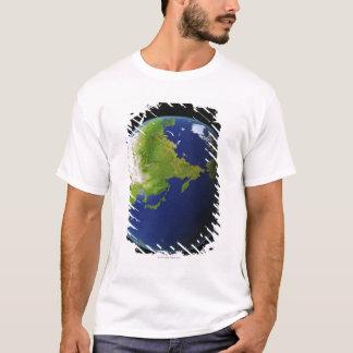 宇宙から見られる日本 Tシャツ