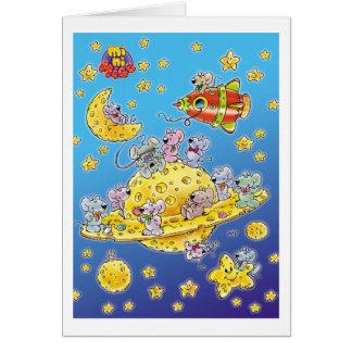 宇宙で失った小型ネズミ カード