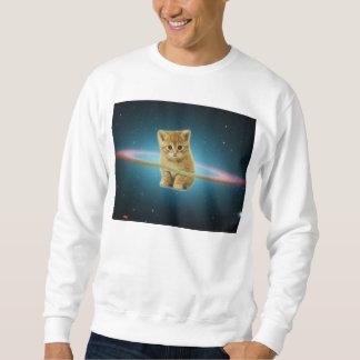 宇宙で失った猫 スウェットシャツ